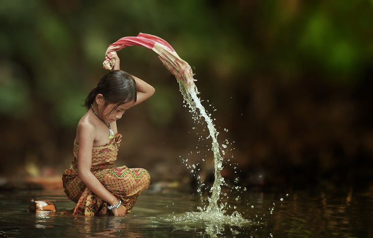 Washing -