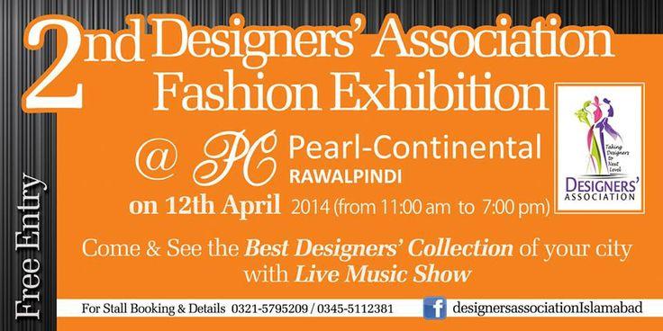 2nd Fashion Exhibition in PC Rawalpindi