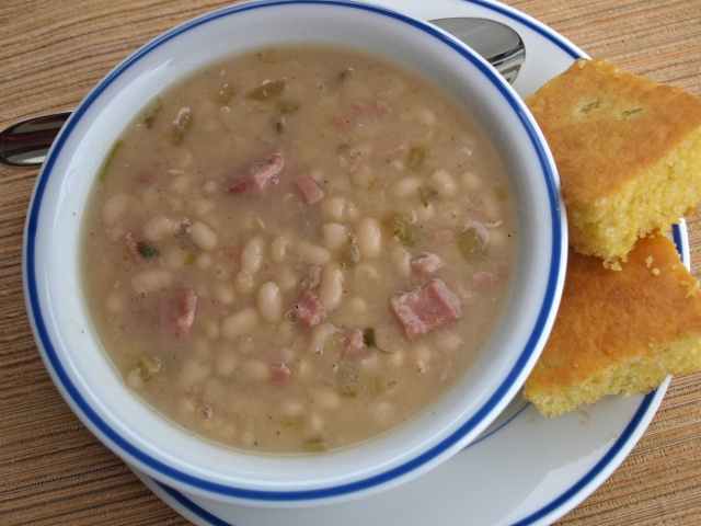 Amish Bean Soup - for that cold weather coziness