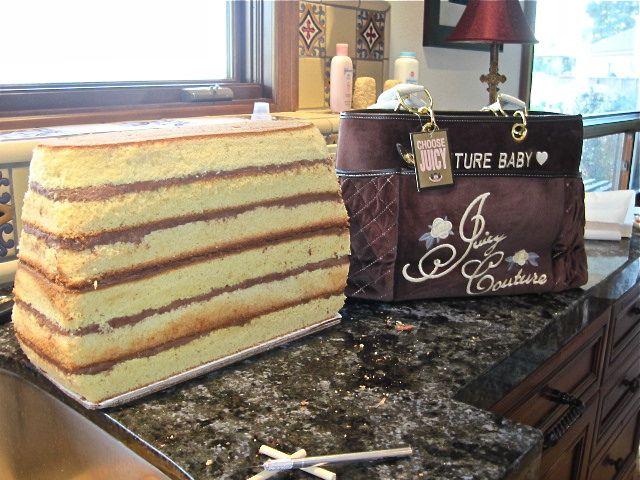Diaper Bag Cake