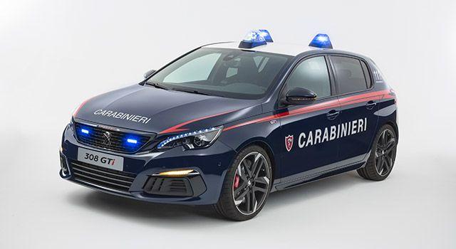 Italie Les Carabinieri Roulent Desormais En Peugeot 308 Gti