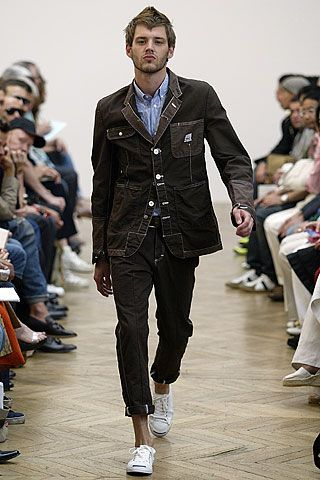 Junya Watanabe Spring 2006 Menswear Collection Slideshow on Style.com