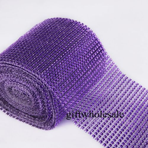 Diamond-Mesh-Wrap-Ribbon-Roll-Cake-Rhinestone-Wedding-Favor-Decor-Party-Supplies