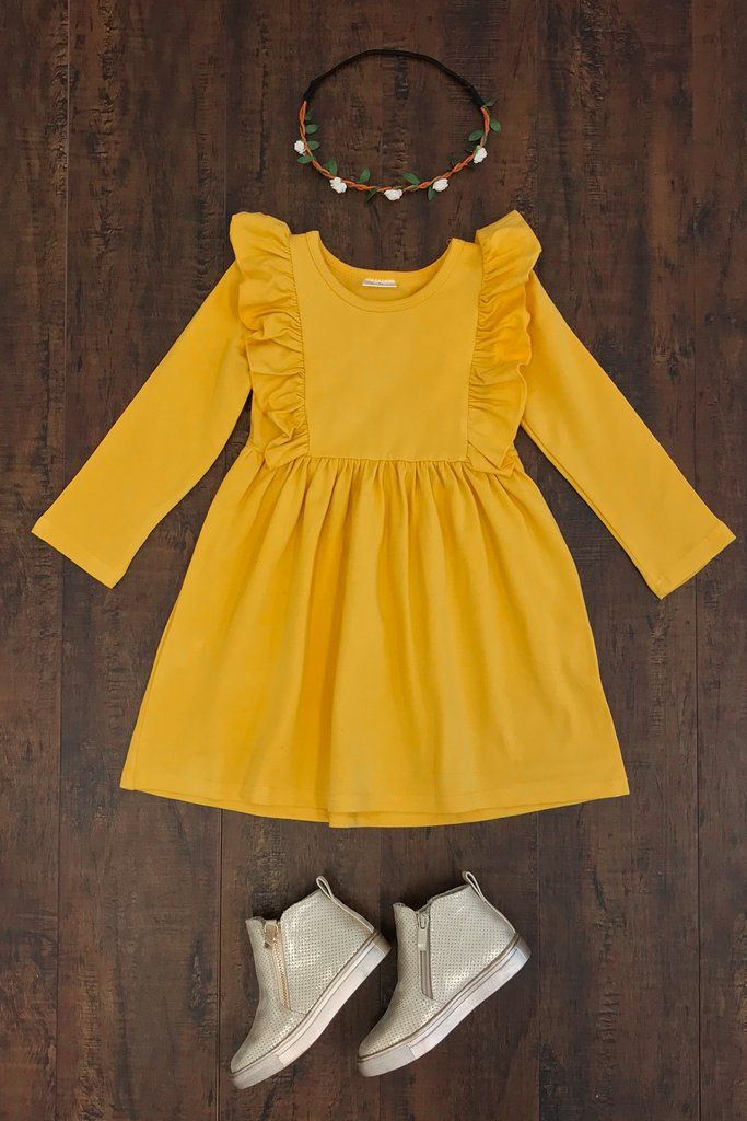 c08260079736 Miranda Mustard Dress
