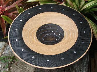 Vessel ll by New Zealand Woodturner John Ecuyer