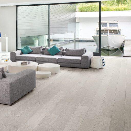 1000 ideas about grey laminate flooring on pinterest grey laminate oak la - Quick step chene blanchi ...