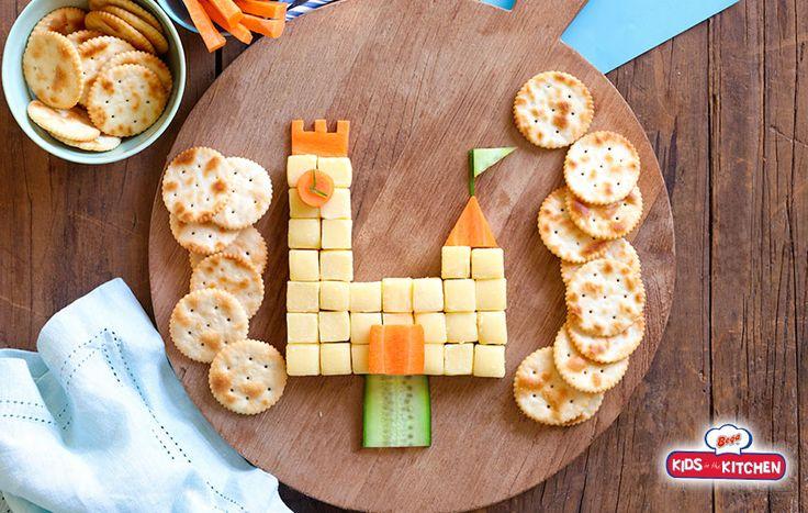 Build a Bega Bar-B-Cubes Castle - Bega Cheese