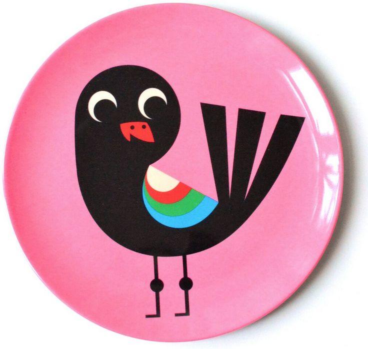 assiette oiseau, bianca and family