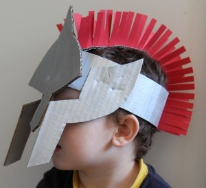 gladiator helmet, so cool!