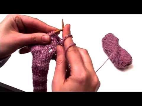 Πλέξιμο - Πως να κάνεις κουμπότρυπα στο πλεκτό
