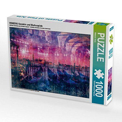 VENEDIG Gondeln und Markusplatz 1000 Teile Puzzle quer: M... https://www.amazon.de/dp/B01LNQP5NG/ref=cm_sw_r_pi_dp_x_hsBoybCJR3SFY #Puzzle #Geschenk #gift #Spielzeug #Venedig #Italien #Stadt #modern #Collage #trendy #Gondel #Markusplatz #pink #CanalGrande