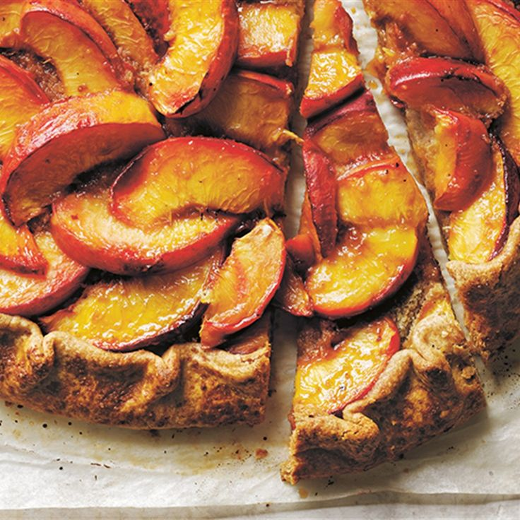 Try a fruity tart recipe for your next dessert. Follow Donna Hay's yummy peach tart recipe for a summery treat.