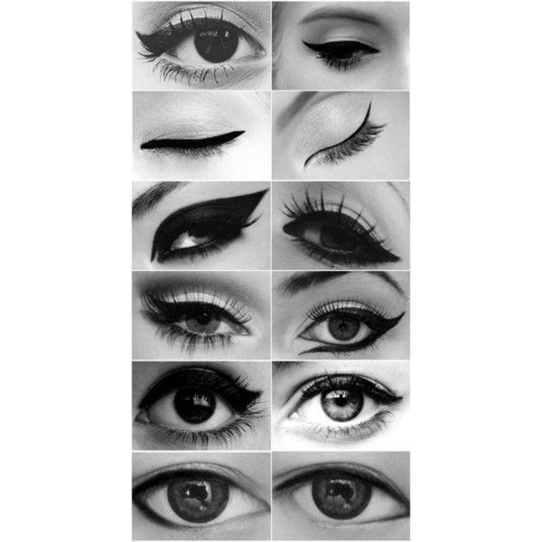 Cat Eye: different eyeliner styles