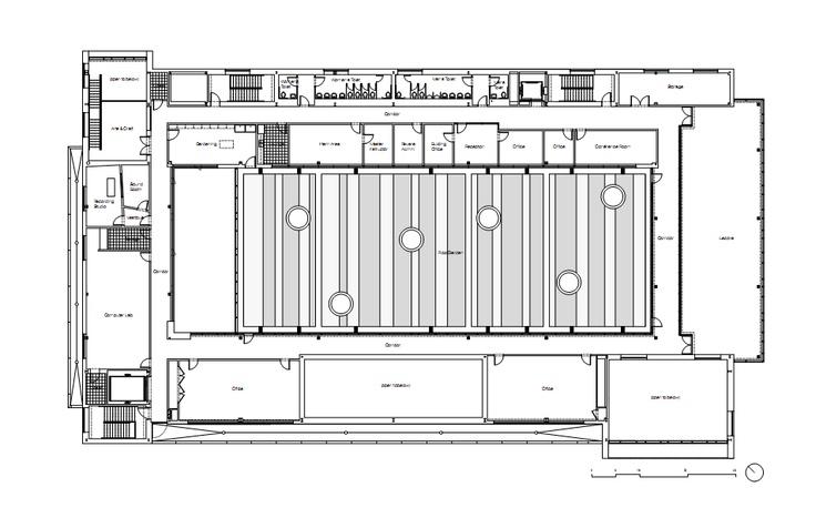 The Gary Comer Youth Center John Ronan Architects Three floor