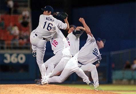 Hideo Nomo, first MLB imports from Japan