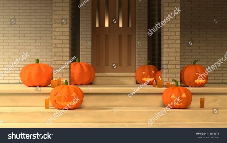 Halloween Home Decoration - (3D rendered) #2