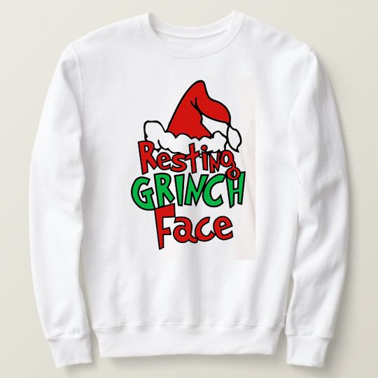 Resting Grinch Face Christmas Custom Shirts