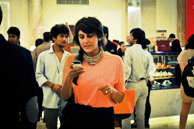 Ambika Anand, Anchor and Editor-in-chief, Fashion, NDTV Good Times at Vogue's Fashion Night Out (INDIA) '12