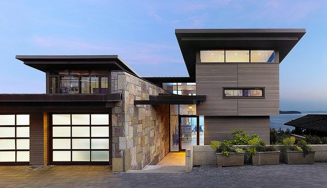 Rock Front House Design