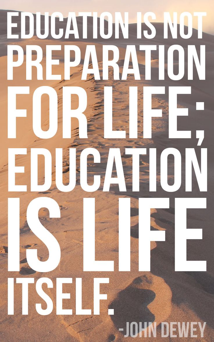 john dewey education is life itself essay Experience & education john dewey experience and education is the best concise statement on should think in terms of education itself rather than in.
