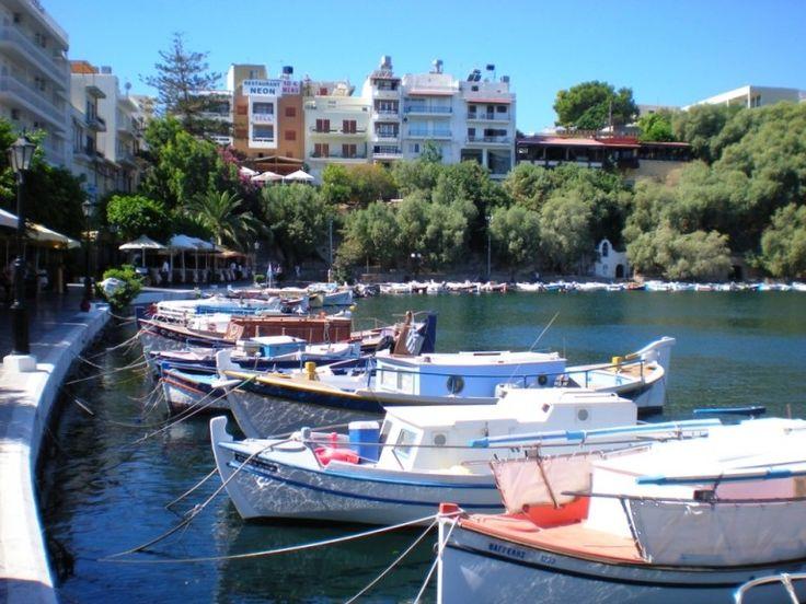Le port d'Agios Nikolaos. #Grèce #Crète