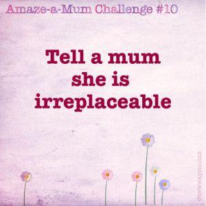 Inspire her, support her, encourage her!