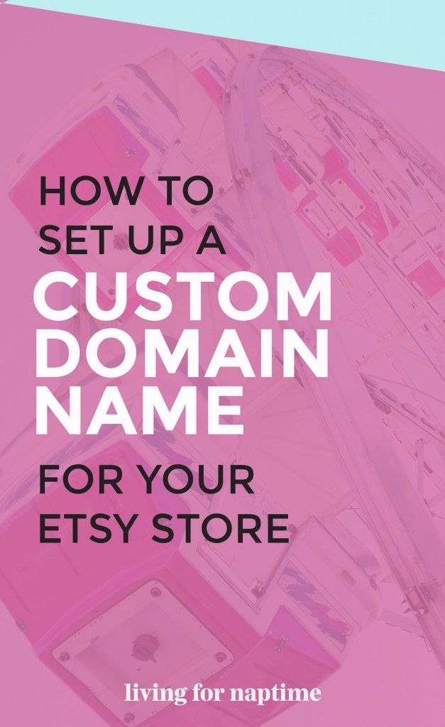 Want to use a personalized URL for your Etsy store? Here's a step-by-step tutorial on how to point your domain name to your Etsy store.