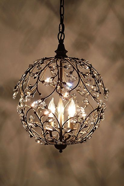 Dream chandelier for my closet.