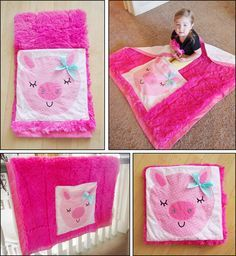 """Easy Quillow Patterns """"Little Miss Pigsy"""""""