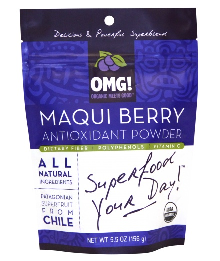 maqui berry - superfood that has more antioxidant benefits than blueberries. Must try this... On my to try list