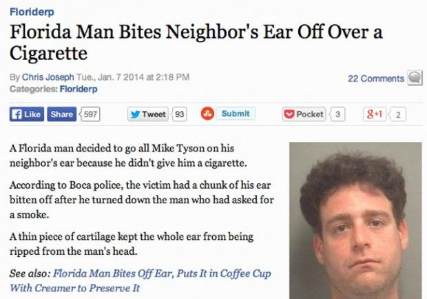 Florida Insanity - Amazingly Weird News Reports From Floriday  (16 of 28)
