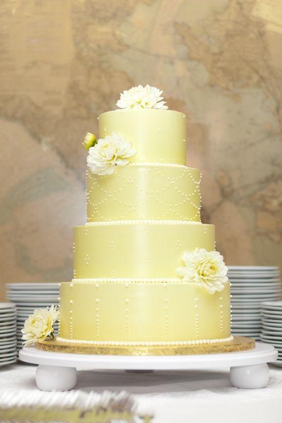 16 best Wedding Cakes images on Pinterest   Cake wedding, Yellow ...