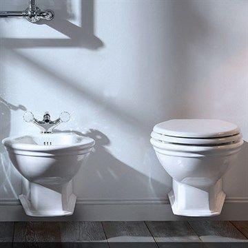Toilet væghængt Imperial i klassisk stil til der herskabelige hus