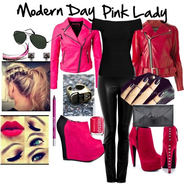 modern day pink lady costume sweet 16 party ideas