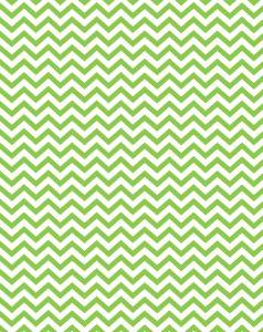 Free printable - green party chevron