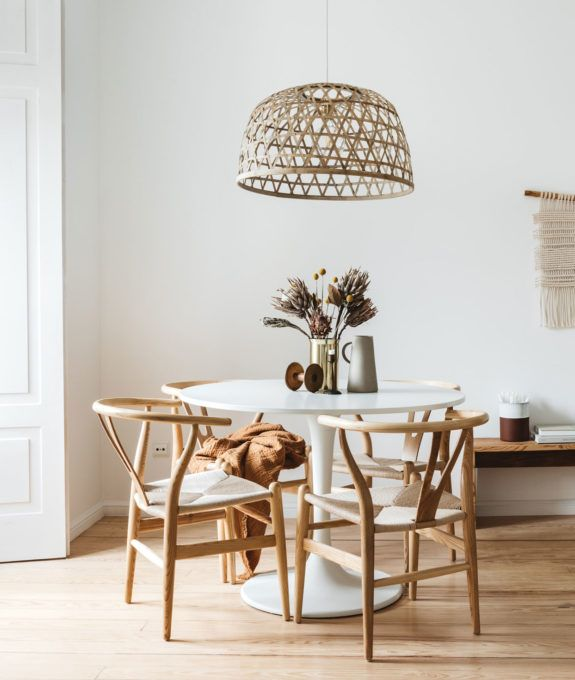 A Design Studio In Lisbon Modern Dining Table Lights Over