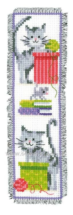 Shop online for Curious Cats Bookmark Cross Stitch Kit at sewandso.co.uk. Browse our great range of cross stitch and needlecraft products, in stock, with great prices and fast delivery.