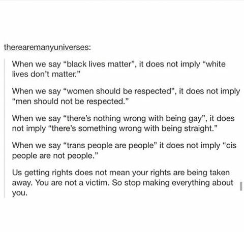 !!!! don't get it twisted we're just advocating... you already have your rights and they don't ✌️