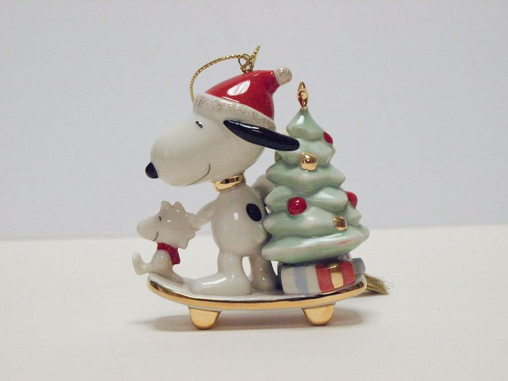 9 best Snoopy Christmas Ornaments images on Pinterest  Christmas