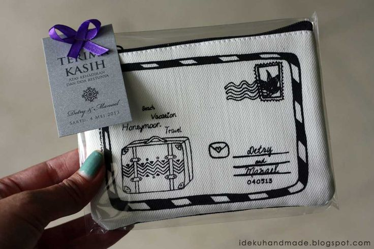 Pouch for wedding