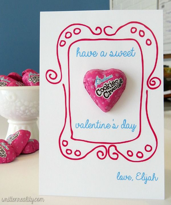 48 best images about Valentines Day Cards – Valentine Cards Preschool