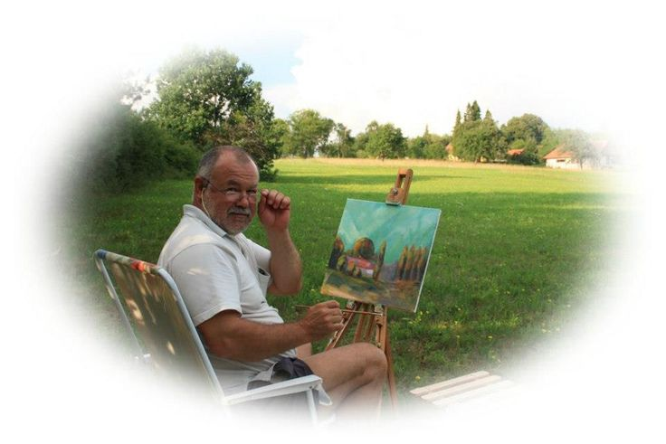 Plein air in Őriszentpéter