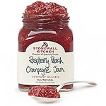 Raspberry Peach Champagne Jam! Parkleigh has daily samples of Stonewall Kitchen, so come on in- your tastebuds will thank you!