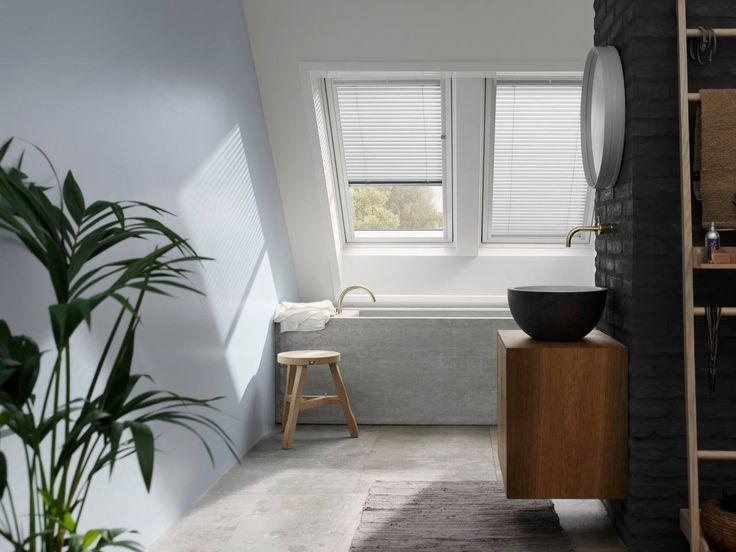 Finestre per tetti con veneziana integrata