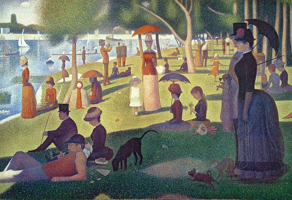 Sunday Afternoon on the Island of La Grande Jatte by Georges Peirre Suerat
