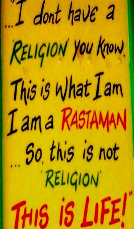 This Is Life Life Rasta Rastafari Rastagirl Rastafarian Adorable Rasta Love Lyrics