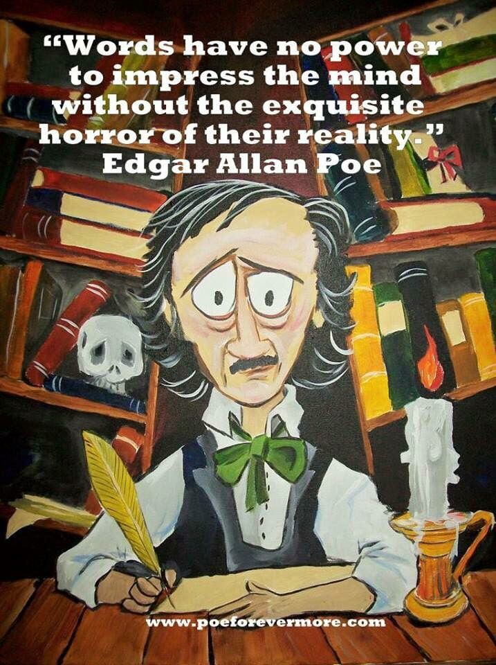 the mysterious life and works of edgar allan poe Author study- edgar allan poe search this site navigation  early life military life poe's literary career and adult life major works and  mysterious death.