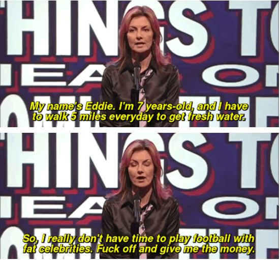 "And so did Jo Caulfield. | 31 Times ""Mock The Week"" Was Really Fucking Funny"