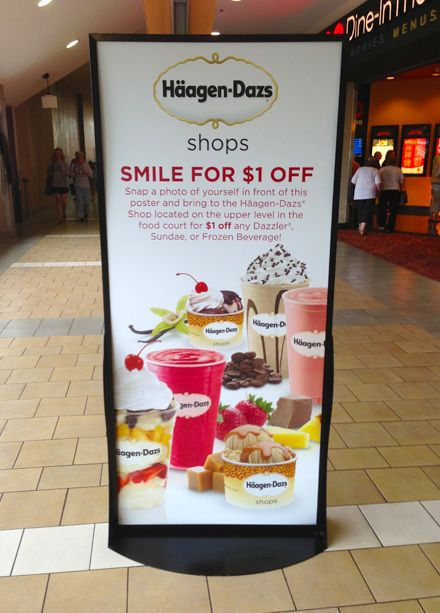 haagendazs viral smile hot weather promo