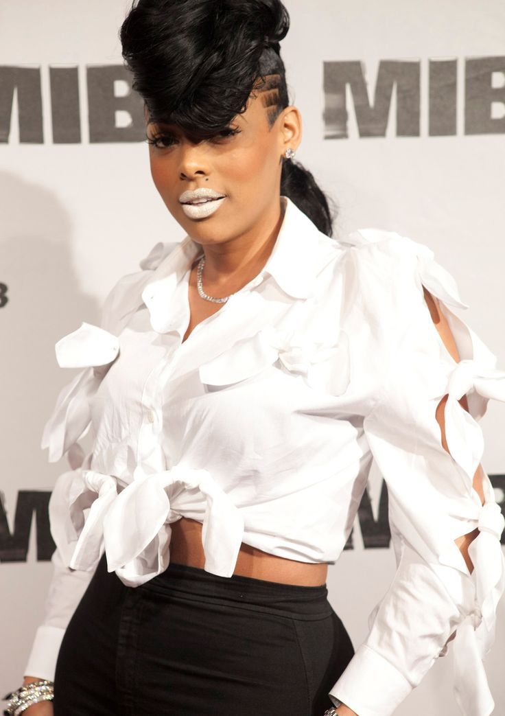 CEO of KA'OIR Cosmetics; Keyshia Kaoir.. Love her products and full make-up line.